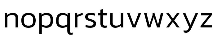 Kanit Light Italic Font LOWERCASE