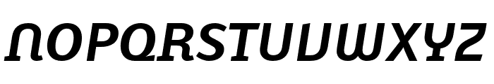 Karbid Pro Bold Italic Font UPPERCASE