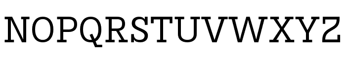 Karbid Slab Pro Regular Font UPPERCASE
