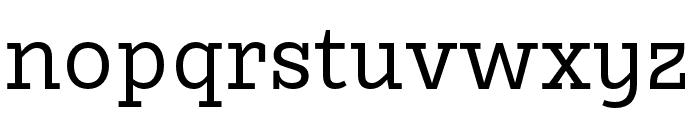 Karbid Slab Pro Regular Font LOWERCASE