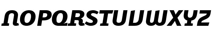 Karbid Text Pro Black Italic Font UPPERCASE