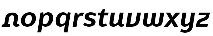 Karbid Text Pro Bold Italic Font LOWERCASE