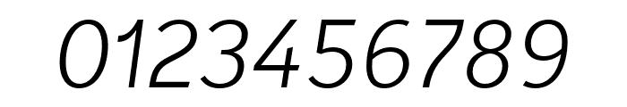Karbid Text Pro Light Italic Font OTHER CHARS