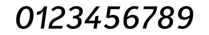 Karbid Text Pro Medium Italic Font OTHER CHARS
