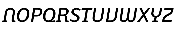 Karbid Text Pro Medium Italic Font UPPERCASE