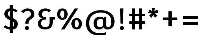 Karbid Text Pro Medium Font OTHER CHARS