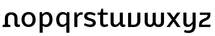 Karbid Text Pro Medium Font LOWERCASE