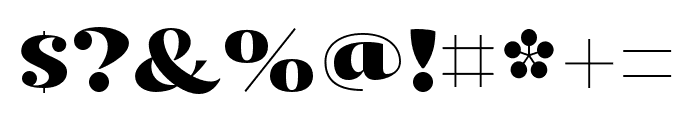 Kari Pro Regular Font OTHER CHARS