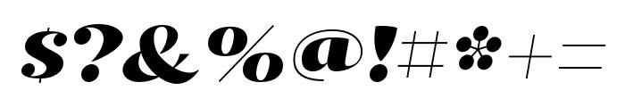 Kari Pro Wide Italic Font OTHER CHARS
