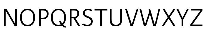 Karmina Sans Light Italic Font UPPERCASE
