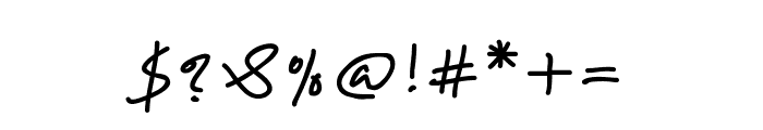 Karumbi Regular Font OTHER CHARS