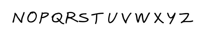 Karumbi Regular Font UPPERCASE