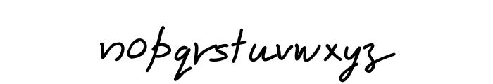 Karumbi Regular Font LOWERCASE