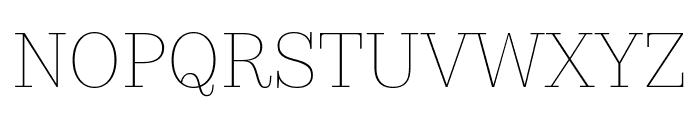 KazimirText Hairline Font UPPERCASE