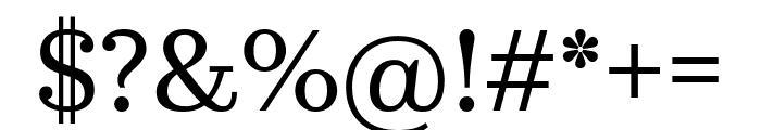 KazimirText Regular Font OTHER CHARS