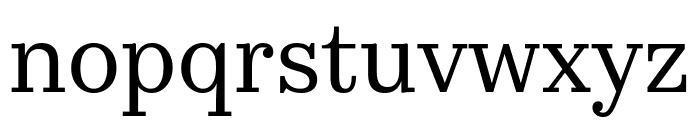 KazimirText Regular Font LOWERCASE