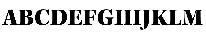 Kepler Std Black Condensed Subhead Font UPPERCASE