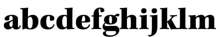 Kepler Std Black Condensed Subhead Font LOWERCASE
