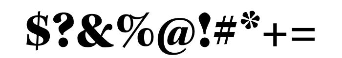 Kepler Std Black Display Font OTHER CHARS