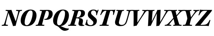 Kepler Std Bold Condensed Italic Display Font UPPERCASE