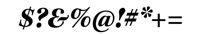 Kepler Std Bold Semicondensed Italic Display Font OTHER CHARS