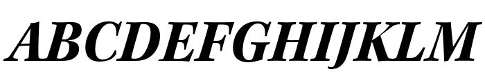 Kepler Std Bold Semicondensed Italic Display Font UPPERCASE