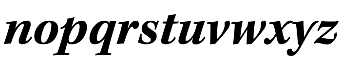 Kepler Std Bold Semicondensed Italic Display Font LOWERCASE