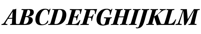 Kepler Std Bold Semicondensed Italic Subhead Font UPPERCASE