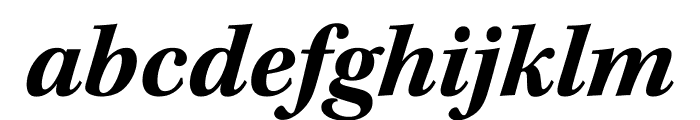 Kepler Std Bold Semicondensed Italic Subhead Font LOWERCASE