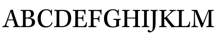 Kepler Std Condensed Subhead Font UPPERCASE