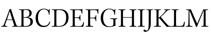 Kepler Std Light Condensed Subhead Font UPPERCASE