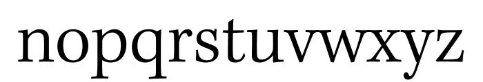 Kepler Std Light Condensed Subhead Font LOWERCASE