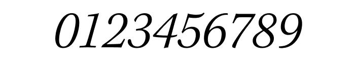 Kepler Std Light Semicondensed Italic Subhead Font OTHER CHARS