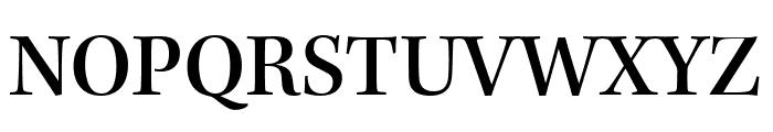 Kepler Std Medium Semicondensed Display Font UPPERCASE