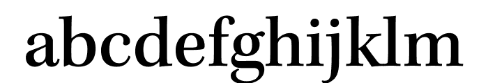 Kepler Std Medium Semicondensed Display Font LOWERCASE