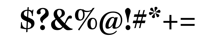 Kepler Std Semibold Condensed Subhead Font OTHER CHARS