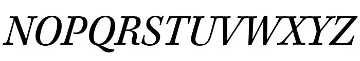 Kepler Std Semicondensed Italic Caption Font UPPERCASE
