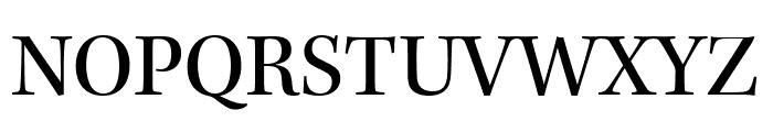Kepler Std Semicondensed Font UPPERCASE