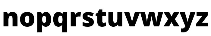 Khula ExtraBold Font LOWERCASE