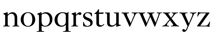 Kings Caslon Display Regular Font LOWERCASE