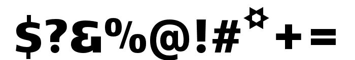 Kobenhavn C Black Font OTHER CHARS