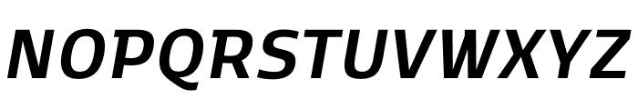 Kobenhavn C Bold Italic Font UPPERCASE