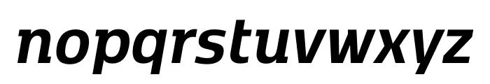 Kobenhavn C Bold Italic Font LOWERCASE