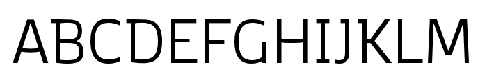 Kobenhavn C Book Font UPPERCASE