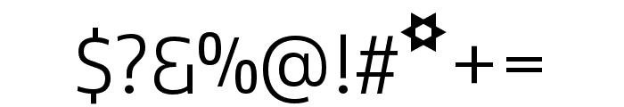 Kobenhavn C Light Font OTHER CHARS