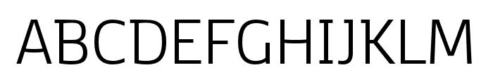 Kobenhavn C Light Font UPPERCASE