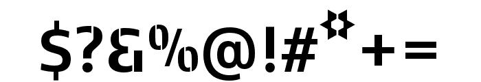 Kobenhavn C Stencil Bold Font OTHER CHARS