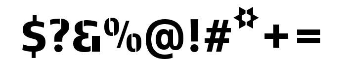 Kobenhavn C Stencil ExtraBold Font OTHER CHARS