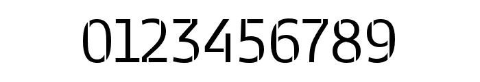 Kobenhavn C Stencil Regular Font OTHER CHARS
