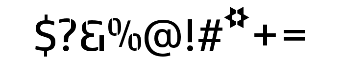 Kobenhavn C Stencil SemiBold Font OTHER CHARS